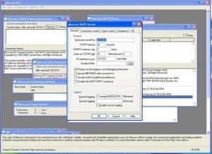 mercury32 smtp server